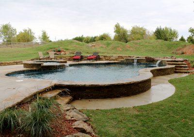 semi-above ground pools Okc
